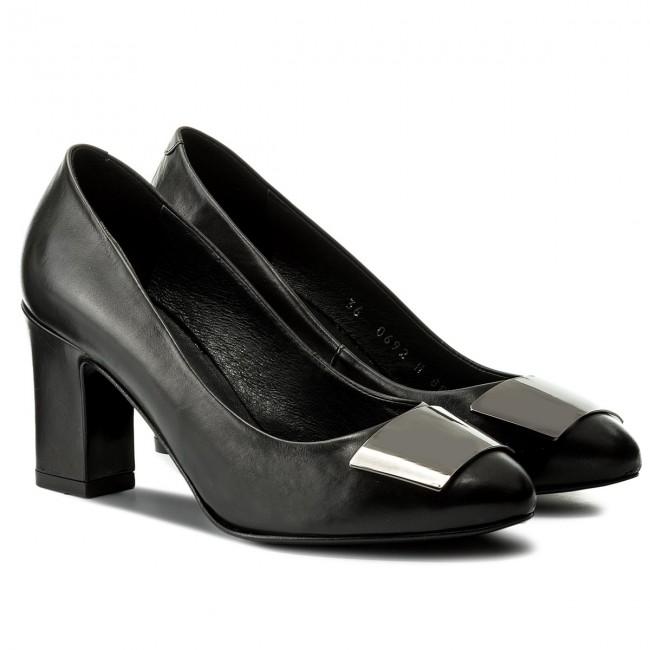 Scarpe basse GINO ROSSI - Lena DCH880-AX5-0900-9900 escarpe neri Pelle Descuento Cómoda 0J1d5eX