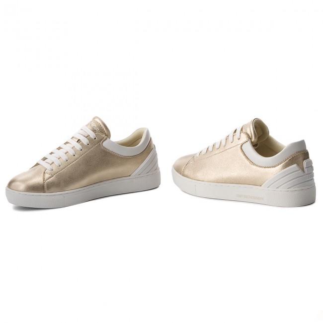 scarpe da ginnastica EMPORIO ARMANI - - - X3X043 XL484 P505 oro Opt.bianca - scarpe da ginnastica - Scarpe basse - Donna | Reputazione a lungo termine  | Uomini/Donna Scarpa  112087