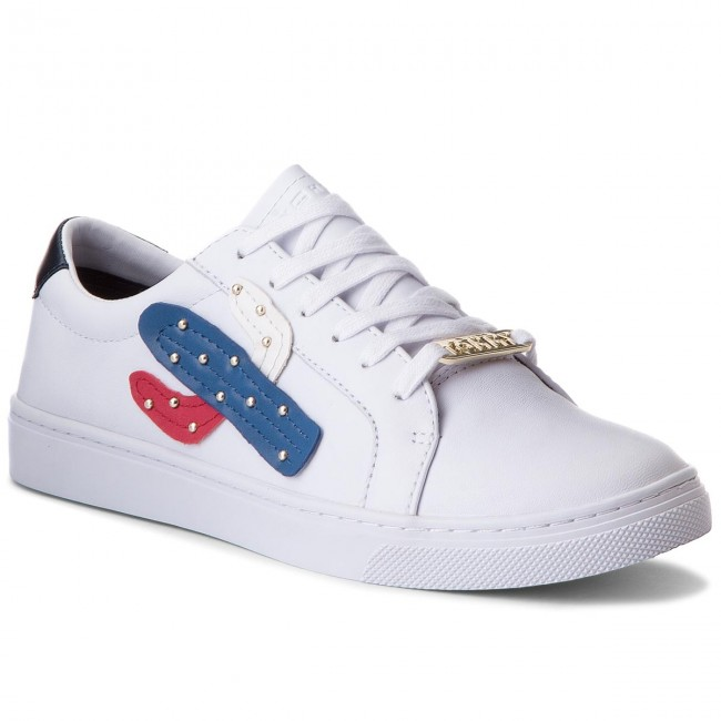 Sneakers TOMMY HILFIGER - Embelish Essential Sneaker FW0FW03388 White 100 831e6692ce9