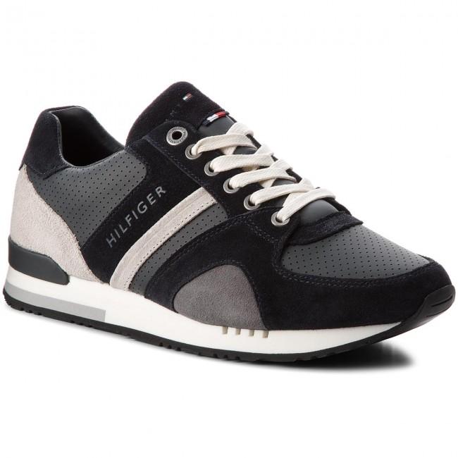 scarpe da ginnastica TOMMY HILFIGER - New Iconic Casual Runner FM0FM01640 Midnight 403 - scarpe da ginnastica - Scarpe basse - Uomo | acquisto speciale  | Maschio/Ragazze Scarpa