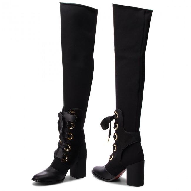 Stivali BALDININI - 915005P82NGAVA Nero - Stivali sopra il ginocchio ... 91bd6238ccc