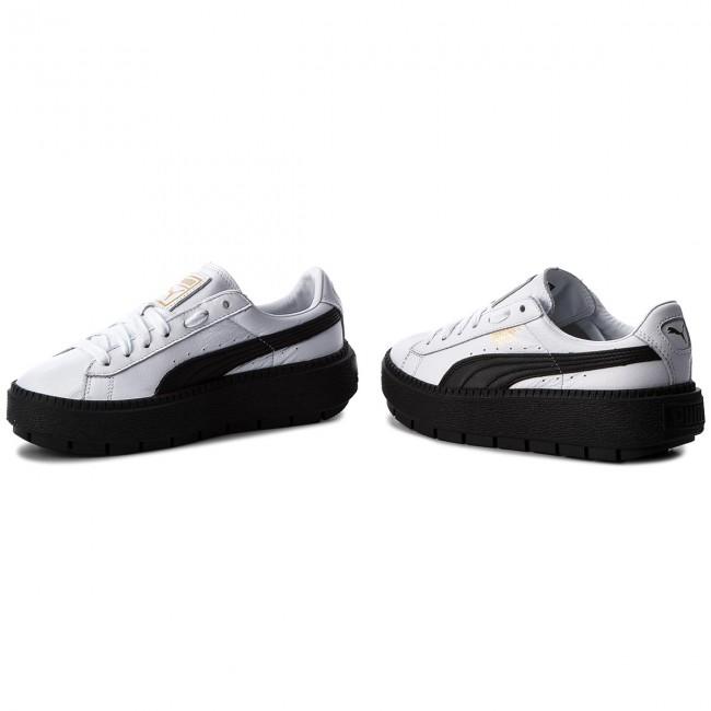 Sneakers PUMA Platform Trace L Wn's 366109 02 Puma WhitePuma Black