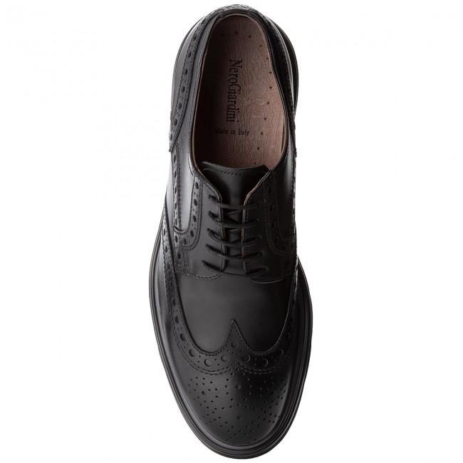 ae857b64907f Scarpe basse NERO GIARDINI - A800553U Ilcea Nero 100 - Eleganti - Scarpe  basse - Uomo - escarpe.it