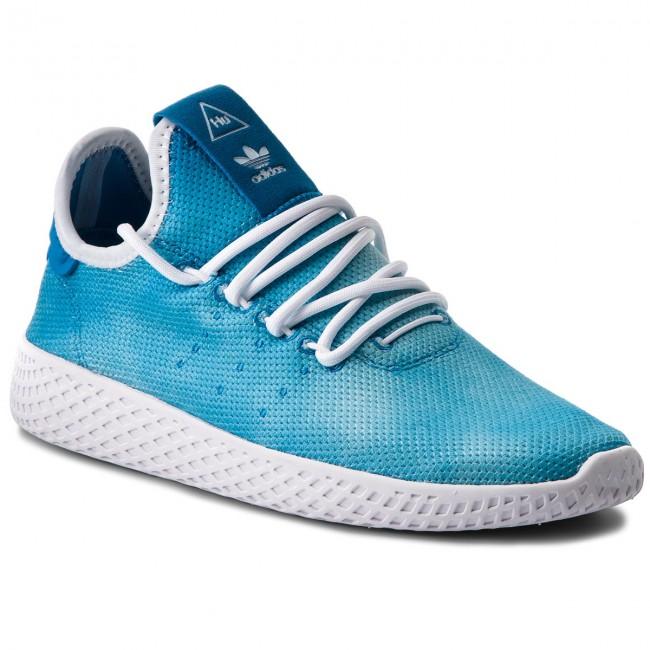 Scarpe adidas - Pw Hu Holi Tennis Hu DA9618 Brblue Ftwwht Ftwwht ... 7e8df8acf65
