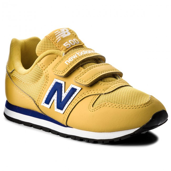 949c6570d9ee4 Sneakers NEW BALANCE - KV500YLY Giallo - Stringate - Scarpe basse ...