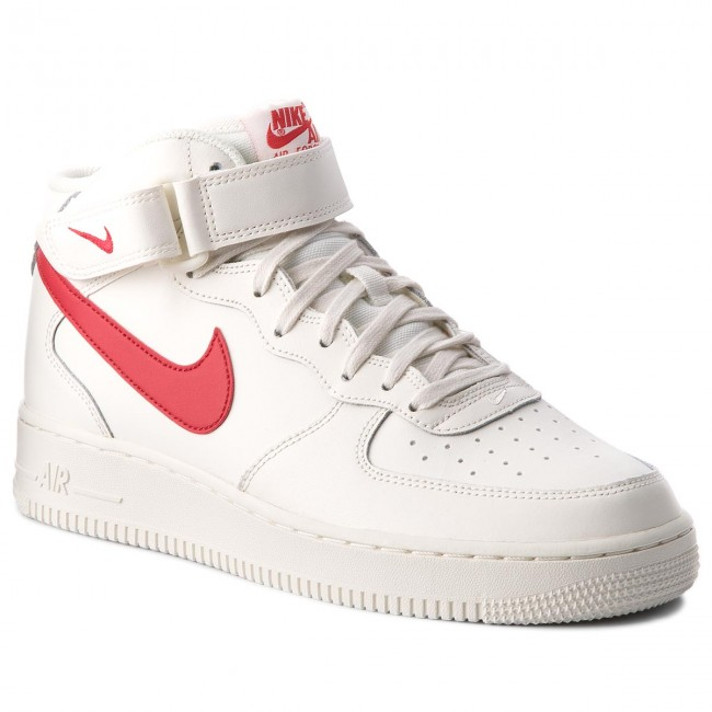 watch c3b69 e5e34 Scarpe NIKE - Air Force 1 Mid  07 315123 126 Sail University Red