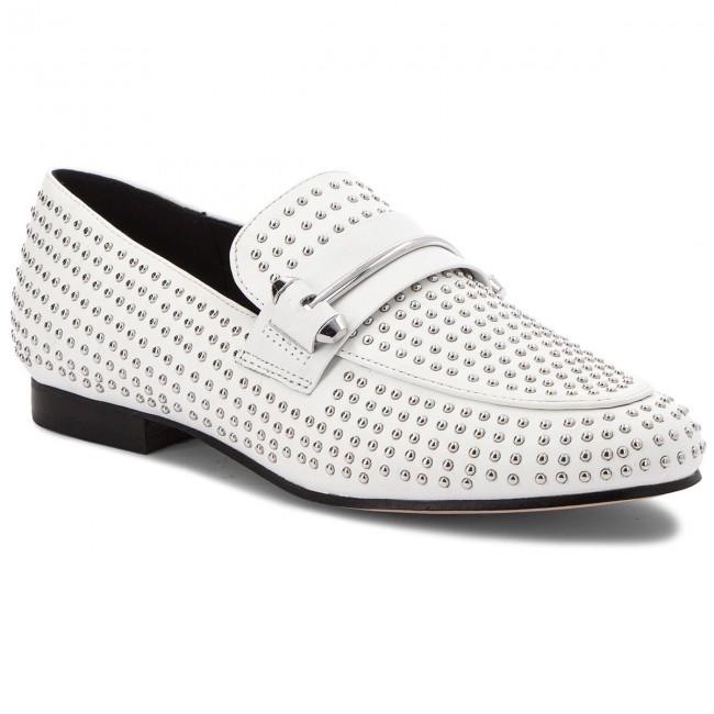 Loafers STEVE MADDEN - Kast Loafer 91000896-07080-02001 bianca - Loafers - Scarpe basse - Donna | Imballaggio elegante e robusto  | Gentiluomo/Signora Scarpa