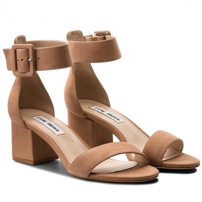 Sandali STEVE MADDEN - Indigo Mid Heel Sandal 91001022-10002 escarpe marroni Pelle Precio Al Por Mayor 6MNT3E