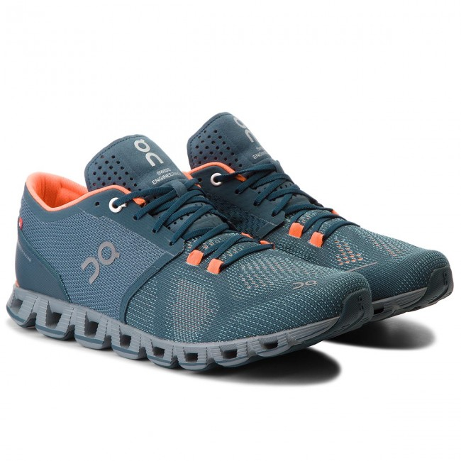 Scarpe ON - Cloud X 000020 Grey/Atlantis 4301