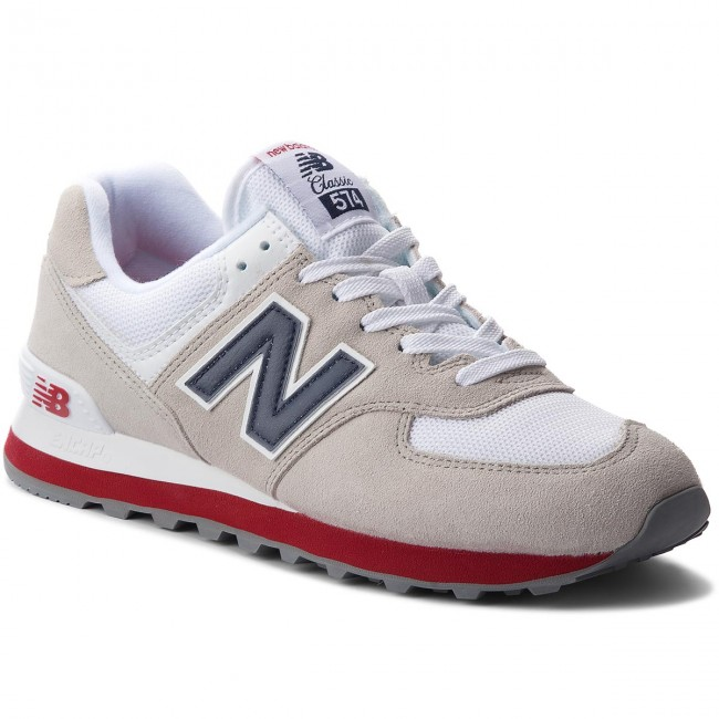 Sneakers NEW BALANCE - ML574ESA Beige Bianco 6b989d92366
