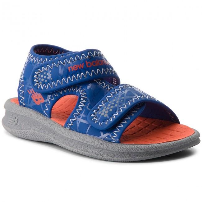 fb14246aa359a Sandali NEW BALANCE - K2031GBO Grey Blue Orange - Sandali - Ciabatte ...