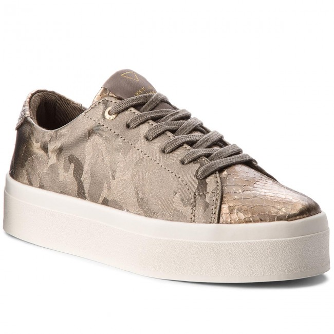 Sneakers GUESS - FLFHL3 FAB12 GREY - Sneakers - Scarpe basse - Donna ... 2452a3153f1