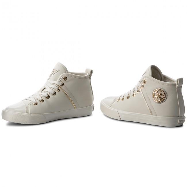 Scarpe da ginnastica GUESS - FLJLE3 FLJLE3 FLJLE3 ELE12 bianca - Scarpe da ginnastica - Scarpe basse - Donna | Dall'ultimo modello  | Uomini/Donna Scarpa  6f2919