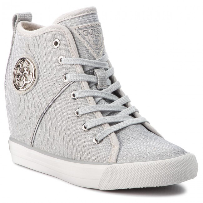 Fljly3 Guess Sneakers Guess Sneakers Ele12 White q0WqtETwPr