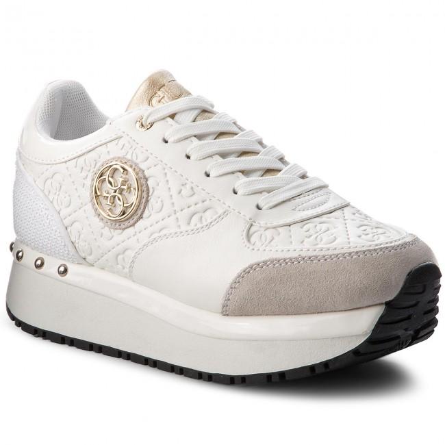 Sneakers GUESS - FLTIF3 PEL12 WHITE - Sneakers - Scarpe basse ... b255b7f405b
