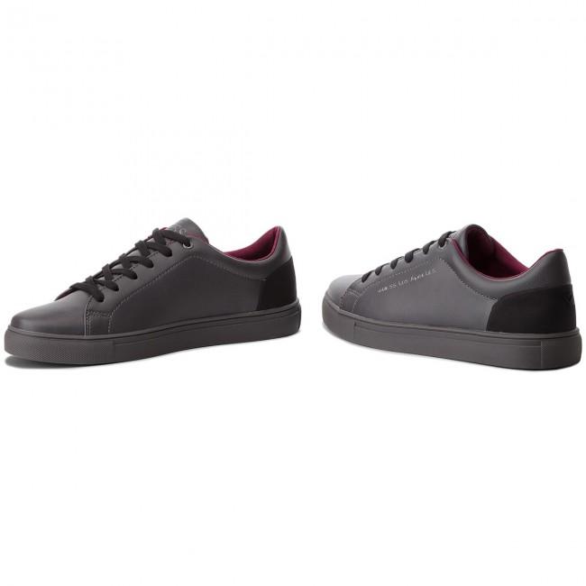 Uomo Qrwx6wuye Lea12 Guess Sneakers Scarpe Grey Basse Fmlui3 Ecq0cT