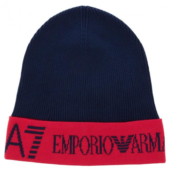 Cappello EA7 EMPORIO ARMANI - 285570 8A311 54035 Black Iris Tango ... e75dceb45e00