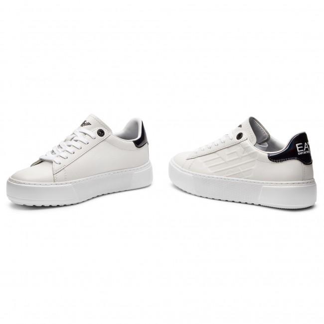 Sneakers EA7 EMPORIO ARMANI - X8X003 XK003 00001 White - Sneakers ... deafdd78e538