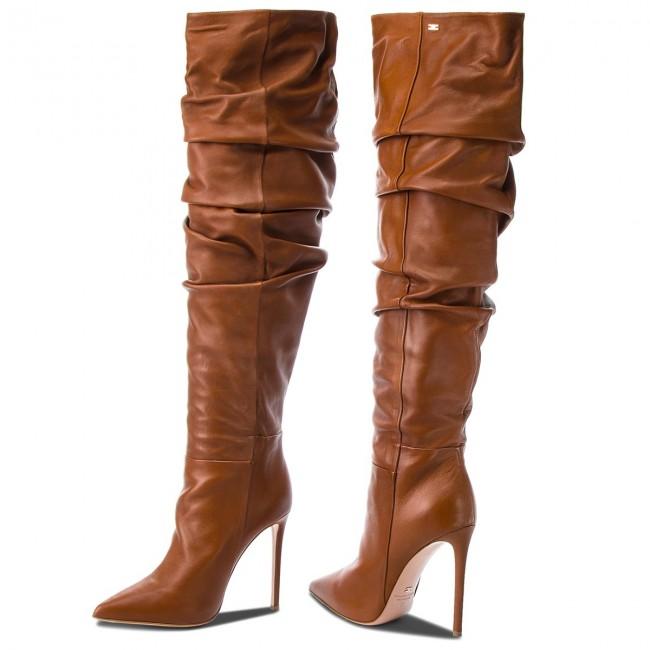 Stivale in pelle Elisabetta Franchi | Stivali tacco alto
