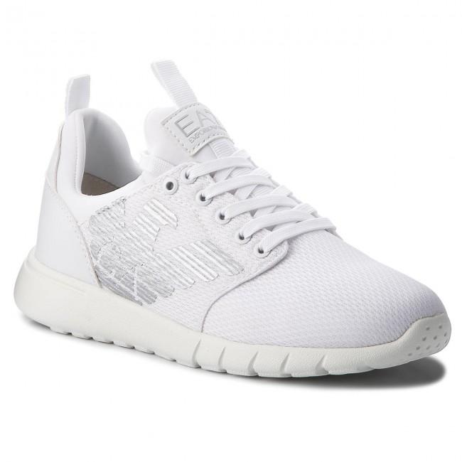 Sneakers EA7 EMPORIO ARMANI - X8X007 XCC02 00001 White - Sneakers ... 4283572542c