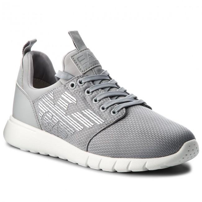 Sneakers EA7 EMPORIO ARMANI - X8X007 XCC02 00460 Grey High Rise ... e65ad017e70f