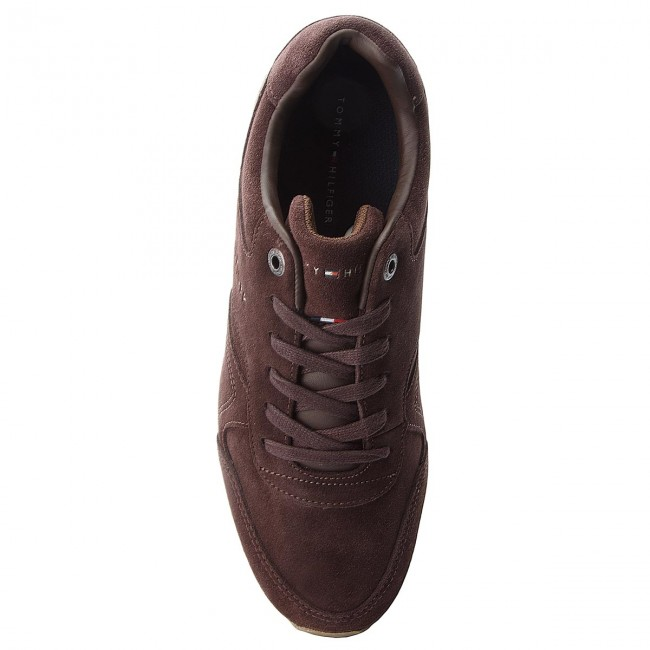 scarpe da ginnastica TOMMY TOMMY TOMMY HILFIGER - Iconic Suede Textile FM0FM01731 Coffee Bean 212 - scarpe da ginnastica - Scarpe basse - Uomo   Exit    Sig/Sig Ra Scarpa  6c5e51