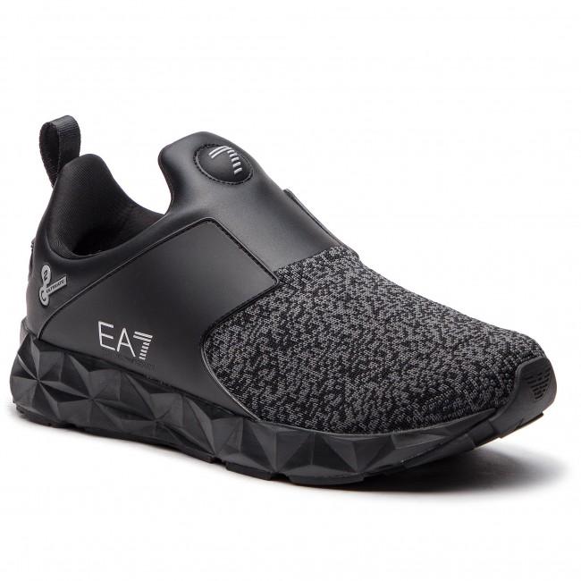 Sneakers EA7 EMPORIO ARMANI - X8X019 XK024 00002 Black - Sneakers ... 6940187ece40