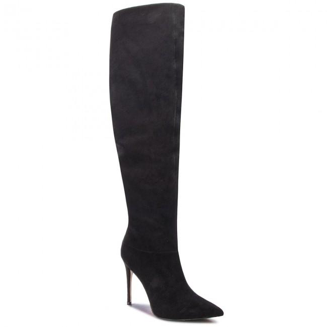 il ginocchio FLAA24 ESU11 BLACK sopra Stivali GUESS Stivali 5WUfxn