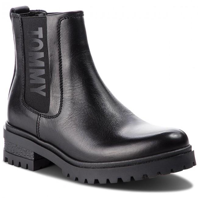 Chelsea TOMMY JEANS - Essential Cleated Ch EN0EN00242 nero 990 - Chelsea - Stivali e altri - Donna | Economici Per  | Uomini/Donne Scarpa