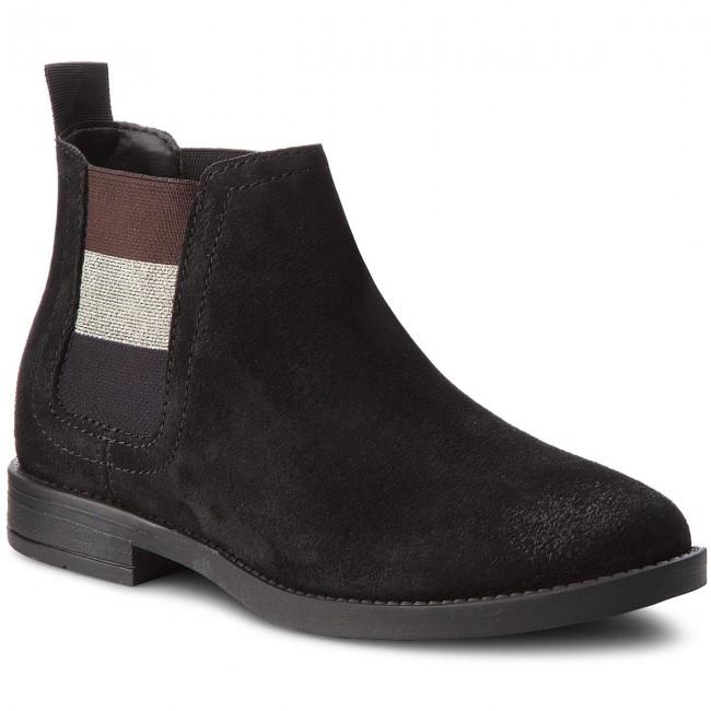 Chelsea Tommy Jeans En0en00305 Black 990 Essential Bo y0wOvmN8n