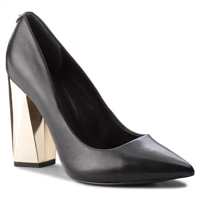 Scarpe basse GUESS - FLODE4 LEA08 nero - Con tacco - Scarpe basse - Donna | Reputazione a lungo termine  | Uomini/Donna Scarpa