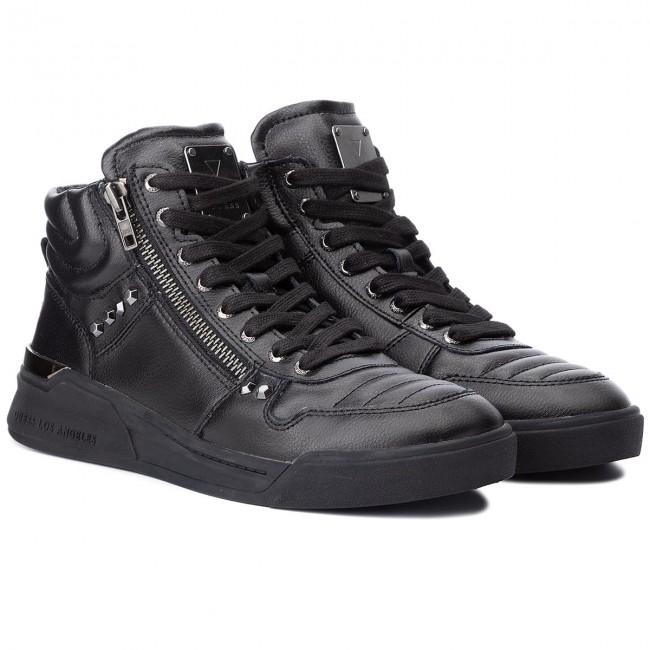 basse Sneakers Uomo Sneakers GUESS Scarpe LEA12 BLACK FMKNM4 wqTnafYq