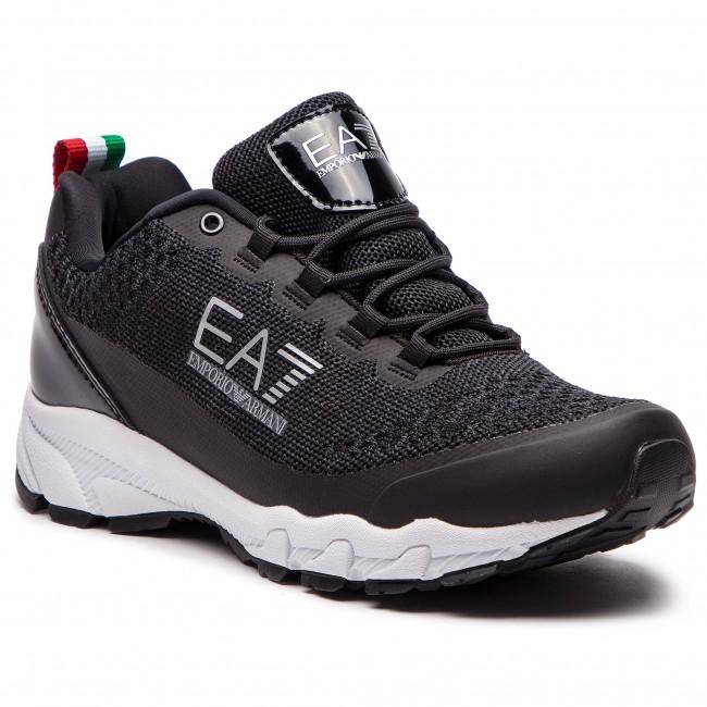 Scarpe basse EA7 EMPORIO ARMANI - X8X025 XK045 00002 Black - Da ... ea02867c479