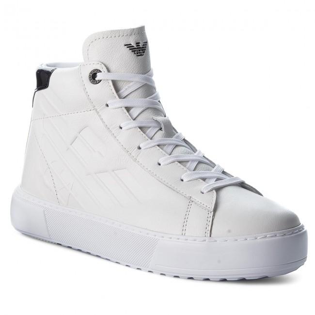X8z001 Ea7 00001 Emporio Armani Sneakers White Xk003 qBWf6