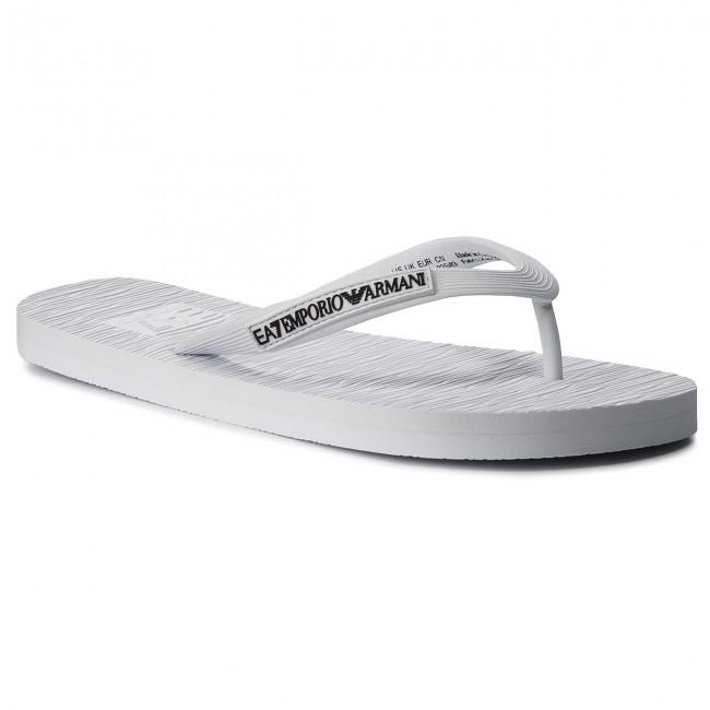 Infradito EA7 EMPORIO ARMANI - XCQ002 XCC08 D611 D611 D611 bianca nero - Infradito - Ciabatte e sandali - Donna   una grande varietà    Scolaro/Ragazze Scarpa  e8f537