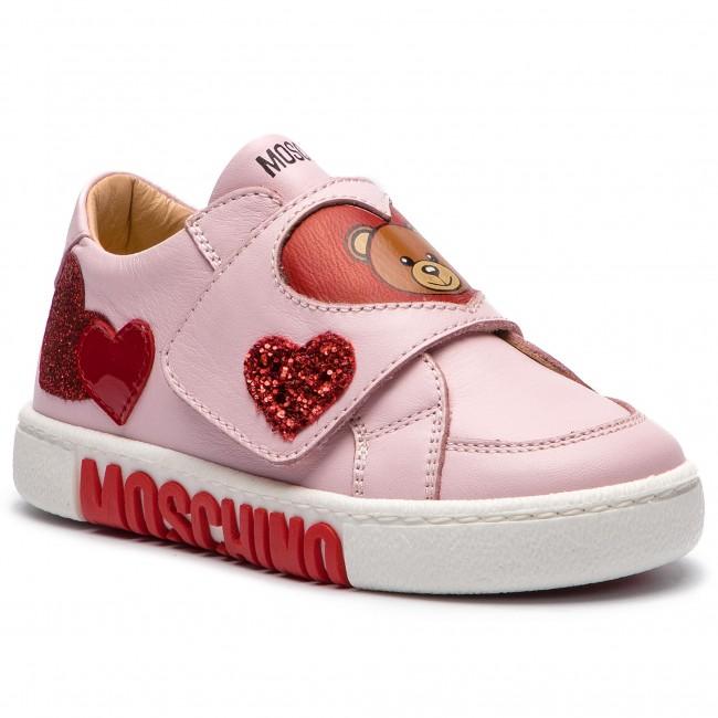 Sneakers MOSCHINO - 26219 S Rosa - Con strappi - Scarpe basse ... 06e629d1072