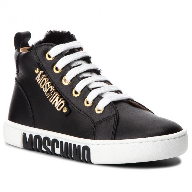 Sneakers MOSCHINO - 26217 D Nero - Polacchi - Stivali e altri ... 958eff32382