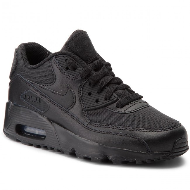 pretty nice df9a4 69943 Scarpe NIKE - Air Max 90 Mesh (Gs) 833418 001 Black Black
