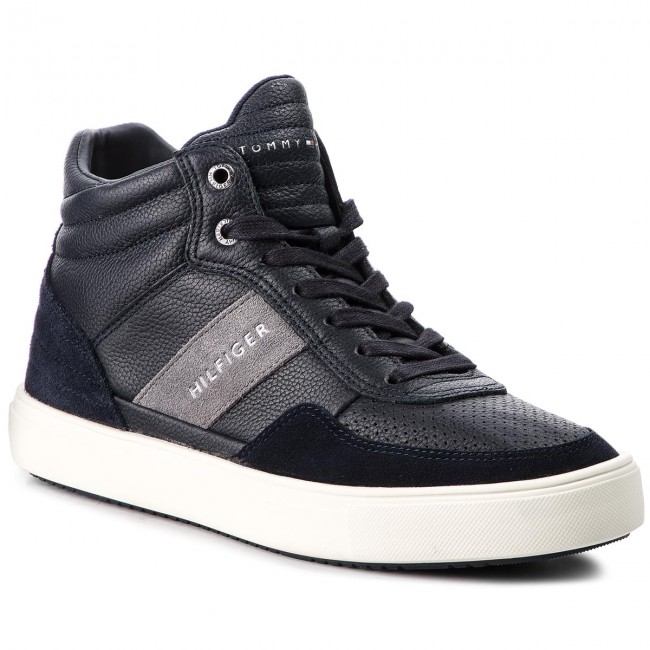 Sneakers TOMMY HILFIGER - Lightweight Material FM0FM01702 Midnight ... 0b25a145b0a