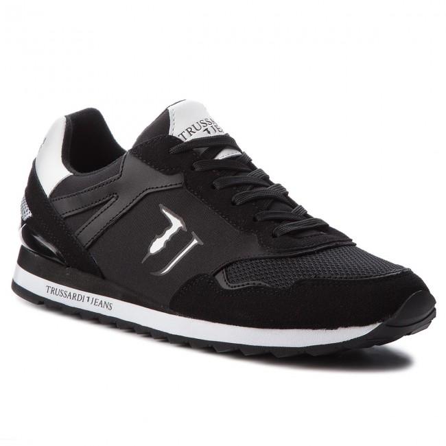 Scarpe Basse Jeans 77a00109 Trussardi K308 Sneakers WfqSwFpO