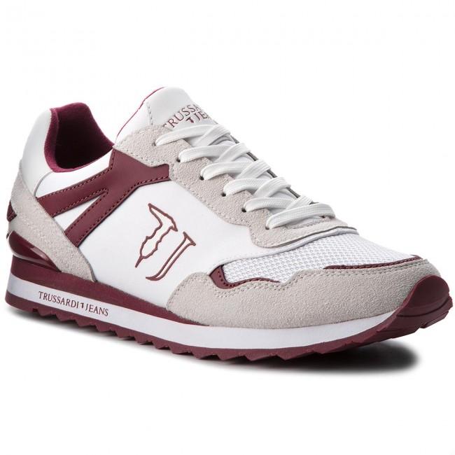 W005 Basse Sneakers 77a00109 Trussardi Jeans Scarpe Yvfgb76y