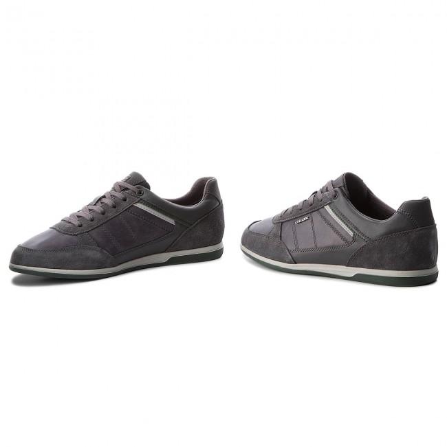 0CL22 B U824GB C9004 Renan Sneakers Anthracite U GEOX Sneakers AtwxqWvX
