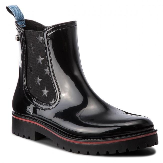 Da 79a00285 K299 Pioggia Wellington Jeans Stivali Trussardi 2beE9WHIDY