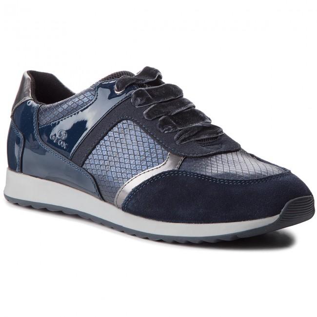 Sneakers GEOX - D Deynna C D846FC 004AU C4002 Navy - Sneakers ... c1fdadc060b