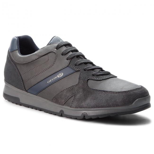Sneakers GEOX - U Wilmer B U823XB 0ME22 C9004 Anthracite - Sneakers ... 88934d968e9