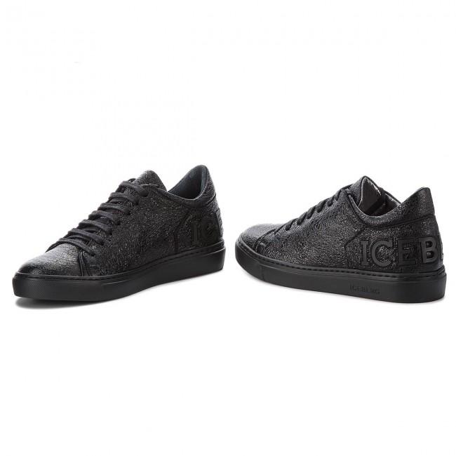 Sneakers Saturno Sneakers I 18IID1389A ICEBERG Diva Nero 8wqv8Szg