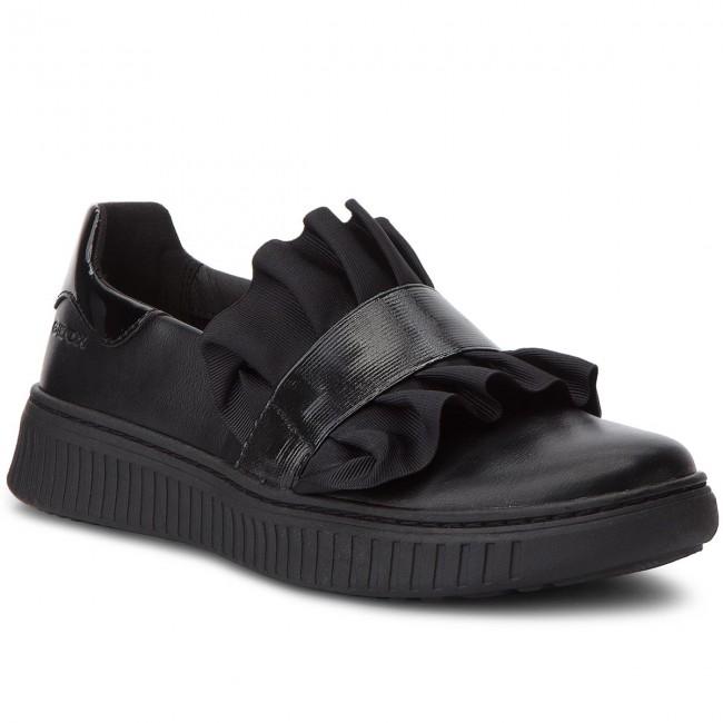 Sneakers GEOX - J Discomix G. D J847YD 000BC C9999 D Black - Slip-on ... be5d5ff516c