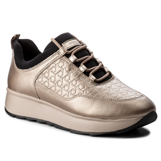 Sneakers GEOX - D Gendry C D845TC 0BVNF C9HQ6 Lead Taupe - Sneakers ... a3661351879