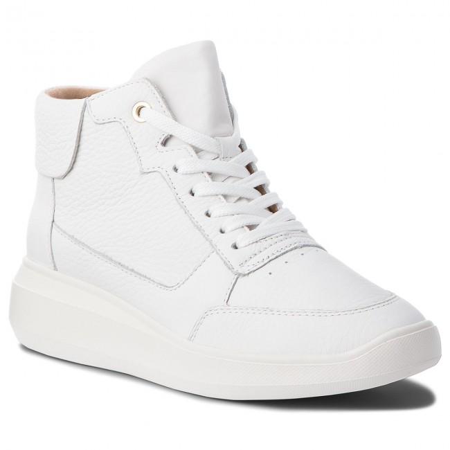 Sneakers GEOX - D Rubidia B D84APB 00046 C1000 White - Sneakers ... 5166c109c06