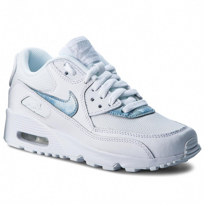 Scarpe NIKE - Air Max 90 Mesh (GS) 833418 111 White Royal Tint White ... 028bf3a65f3